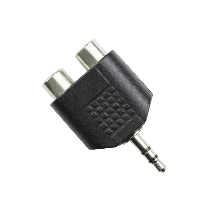 3.5mm to 2RCA Adapter|3.5mm Jack Male to RCA Female|Audio Jack Adapter|RCA Adapter