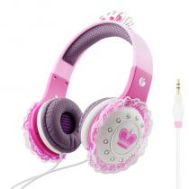 Pink Headphones|Kids Headset|Girls Headphones