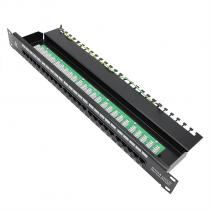 VCOM-25 Ports Patch Panel Voice Type-D1351